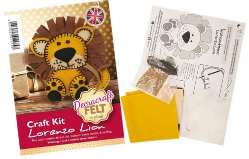 Felt Lion kit