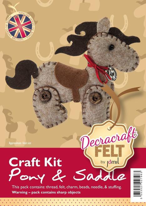 Felt Pony & Saddle kit -