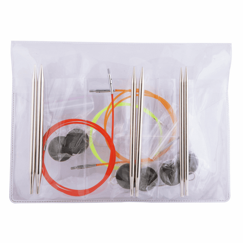Knit Pro - Nova Metal Circular Interchangeable Knitting Pins - Starter Set