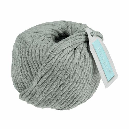 Cotton Macramé Cord - 50m x 4mm - Silver