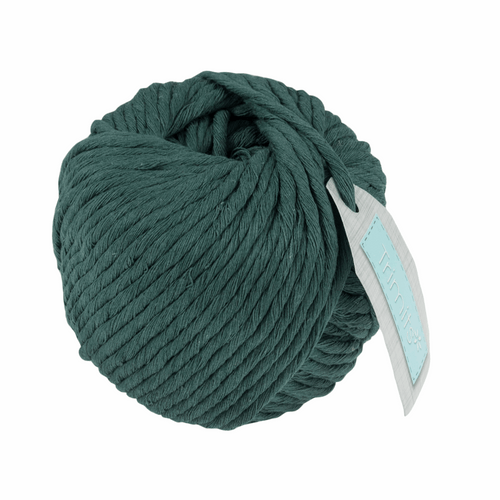 Cotton Macramé Cord  - 50m x 4mm - Dark Green