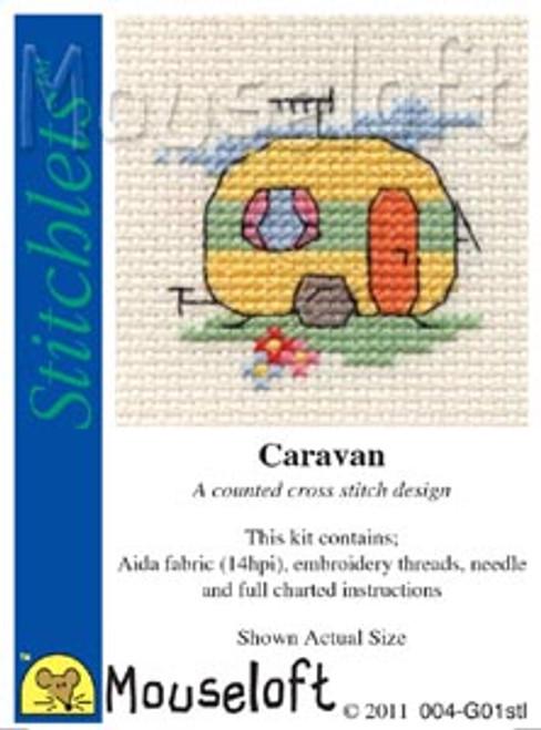 Caravan Stitchlets Small Cross Stitch Kit