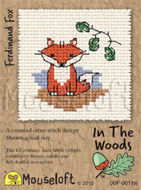 Ferdinand Fox in the Woods Small Cross Stitch Kit