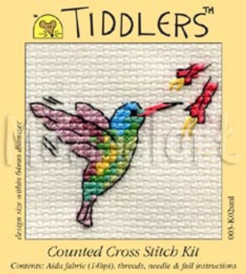 Little Humminbird Tiddlers Cross Stitch Kit
