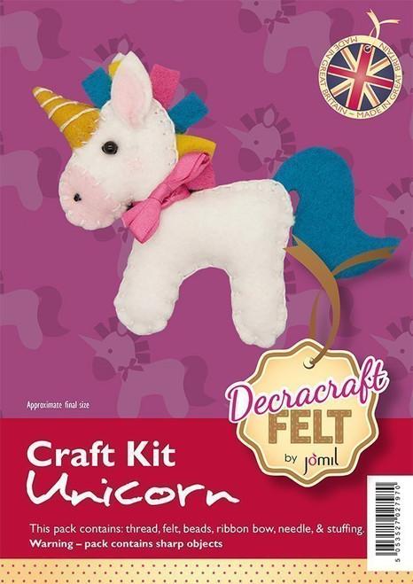 Felt Unicorn Robin kit