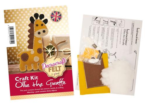 Ollie The Giraffe Felt Kit