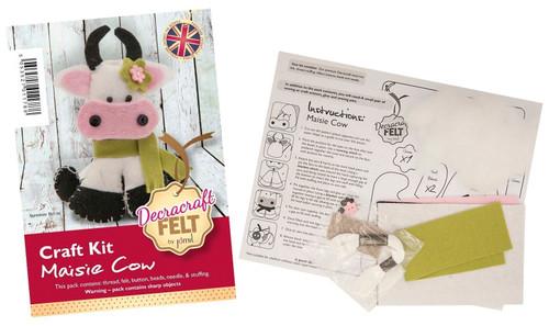 Maisie Cow Felt Kit