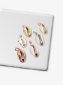 Cute And Elegant Cindy Cowry Shell Pendants In Gold, Silver, Bronze, Vermeil, Copper, And White Colors | Mojo Supply Co