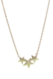 3 star cluster necklace