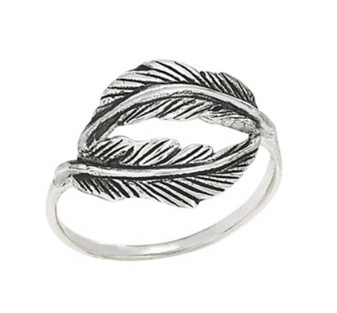 Leaves Wrap Ring