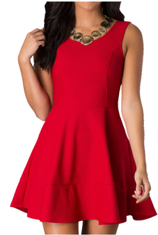 Fit n Flare Teen Dress