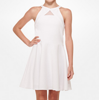 Marley Teen Dress White