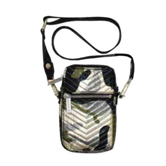 Cell Bag - Camo Chevron