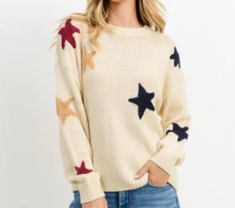 Star Sweater - Teen