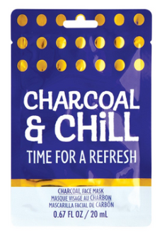 Face mask - Charcoal & Chill