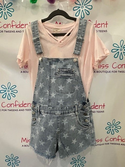 Short Overalls with Stars
