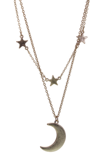 Double Layer Celestial Necklace