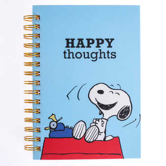 Peanuts Happy Thoughts Notebook