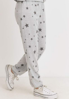 Brushed Star Joggers - Teen