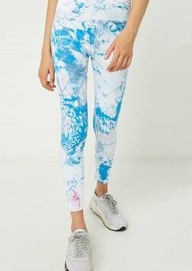 Blue Mix Leggings