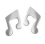Earrings - Musical Note Studs