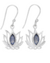 Earrings - Lotus Hanging
