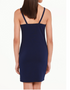 Brooke Dress back view (shown here in navy)