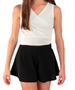 Riley Short paired with Ashley top