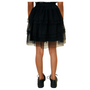 Tulle layered skirt back view