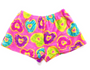 Plush Shorts - Heart Donut