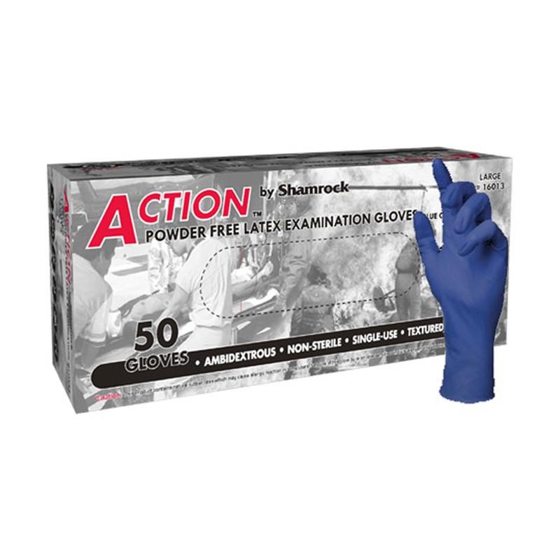 "Shamrock Heavy Duty Latex Gloves, 12"" Extended Cuff"
