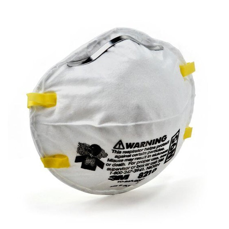 3M™ 8210 N95 Particulate Respirator Mask