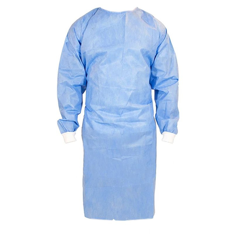 Surgical Gown Sterile, SMS Tyvek, Antimicrobial Finish