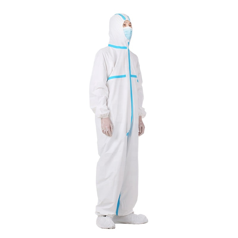 Medical Protective Clothing with Hood, Coverall