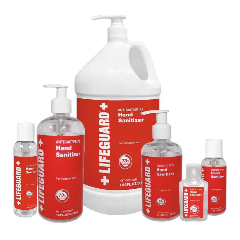 LifeGuard Antibacterial Hand Sanitizer Gel
