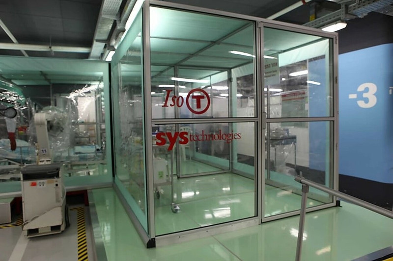 Iso-T 505 - Indoor Isolation System for Infectious Disease (Coronavirus, Ebola)