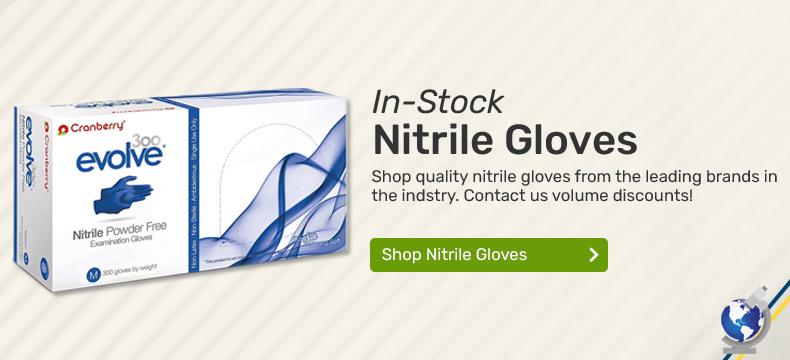 Shop Nitrile Gloves