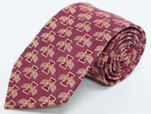 Iowa State University Repeating Silk Necktie