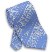 Wright Brothers Designs Tie