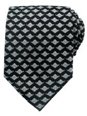 Star Wars Men's Yoda Regular Neck Tie - Black
