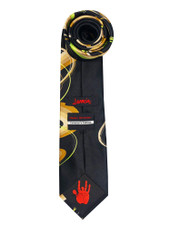 Jerry Garcia Collector's Edition Men's Happy Birthday Neck Tie - Taupe