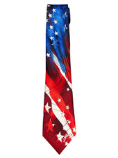 Jerry Garcia Collector's Edition Men's Moon Mountain Artwork Neck Tie - Navy Blue