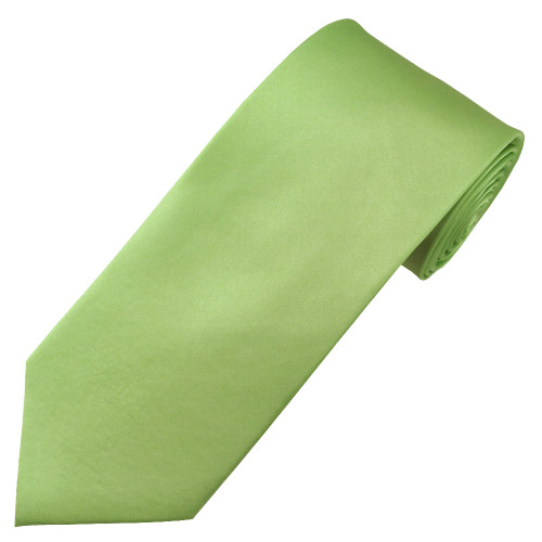 Mint Satin Silk Ties