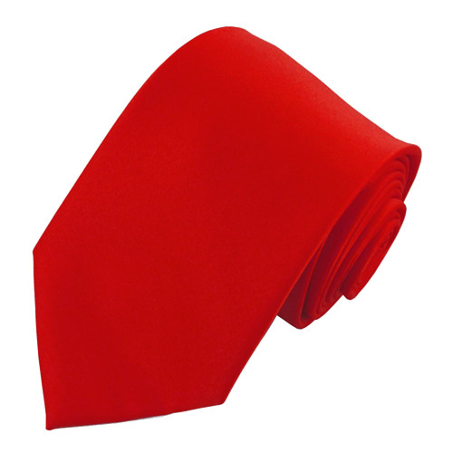 Red Polyester Ties