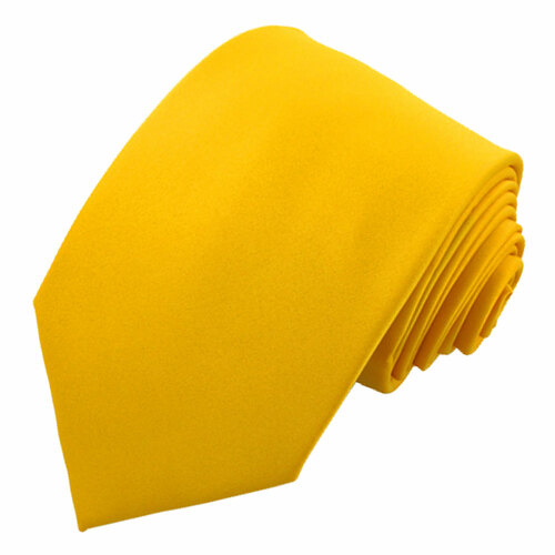 Bright Yellow Polyester Ties