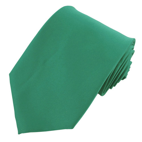 Emerald Solid Polyester Tie