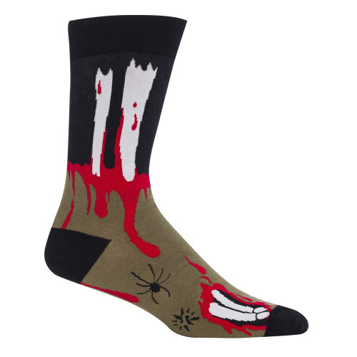 Men's Halloween The Socking Dead Socks
