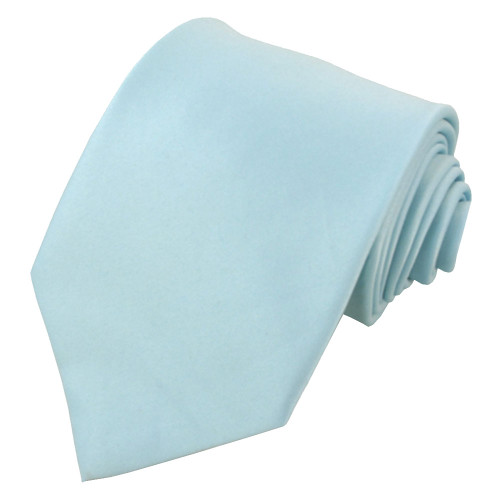 Light Blue Polyester Ties