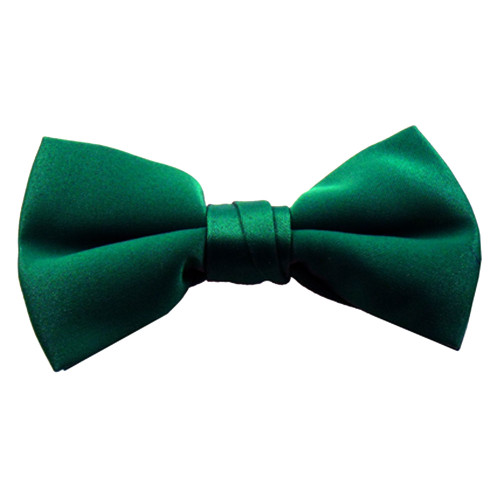 Boys Hunter Green Band Bowties