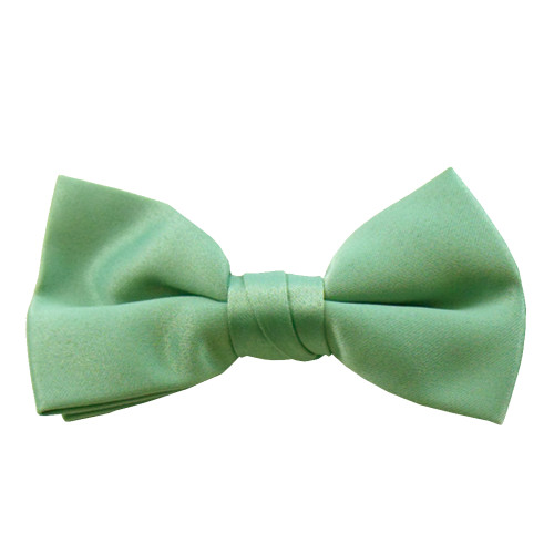 Aquamarine Band Bowties